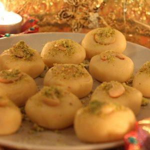 Milky Kaju Cookies